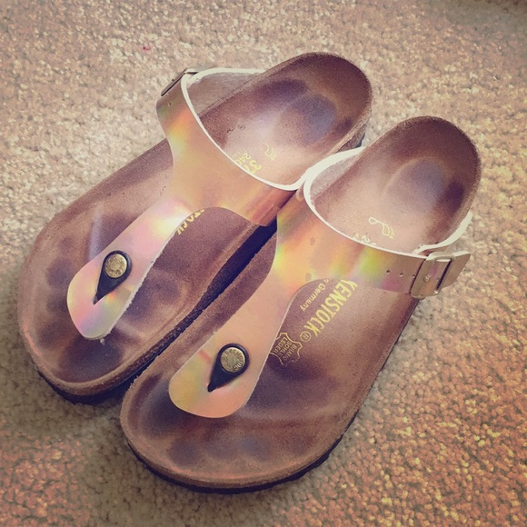 Rose Gold Mirror Gizeh DISCONTINUED Birkenstock